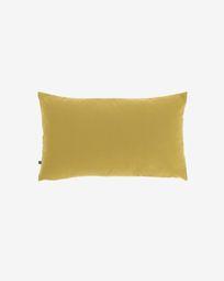 Housse de coussin Nedra 30 x 50 cm moutarde