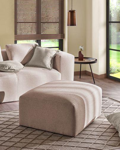 White Maelina cushion cover 45 x 45 cm