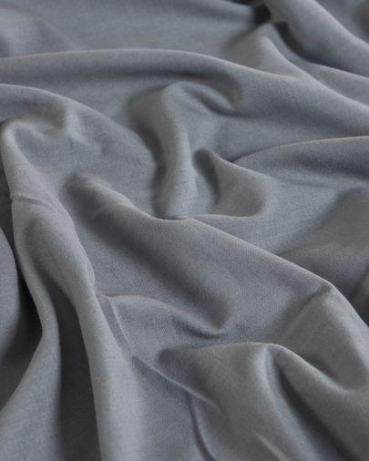 Set Alay funda nórdica, bajera y funda almohada algodón orgánico GOTS cuadros 60 x 120 cm