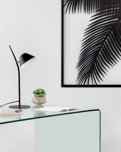 Aurelia table lamp black