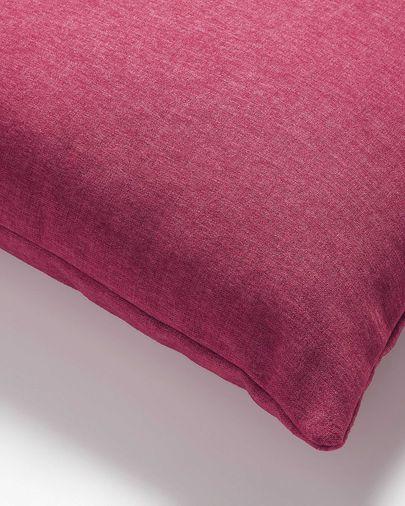 Fodera per cuscino Kam 45 x 45 cm bordeaux