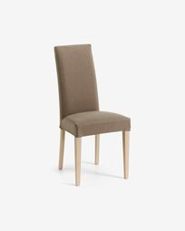 Freda chair brown and natural