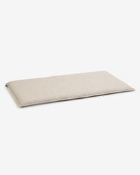 Cushion for Aiala 2-seater sofa in beige 65 x 125 cm