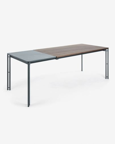 Table extensible Kesia 160 (220 )x 90 cm