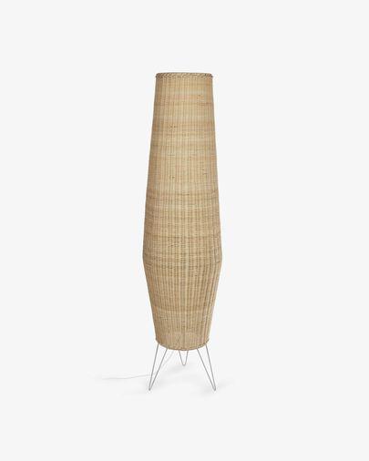 Kamaria large rattan table lamp with natural finish
