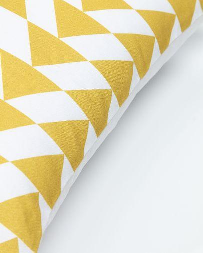 Kussensloop Fabiela 45 x 45 cm driehoeken