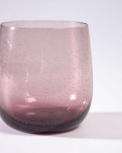 Vaso Hanie cristal rosa