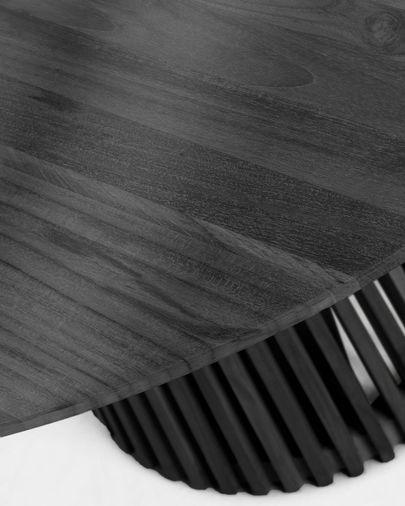 Table Jeanette Ø 120 cm noire
