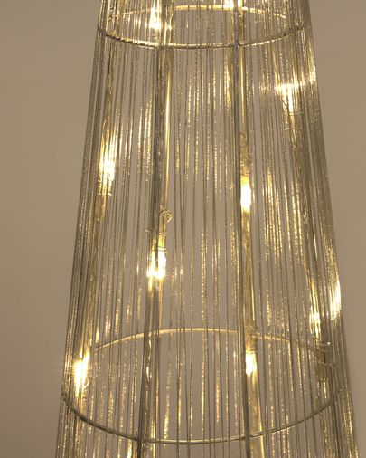Set Marleen de 3 conos árbol luminoso metal