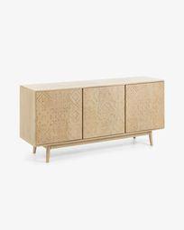 Aparador Seleb 162 x 75 cm madeira maciça de mangueira