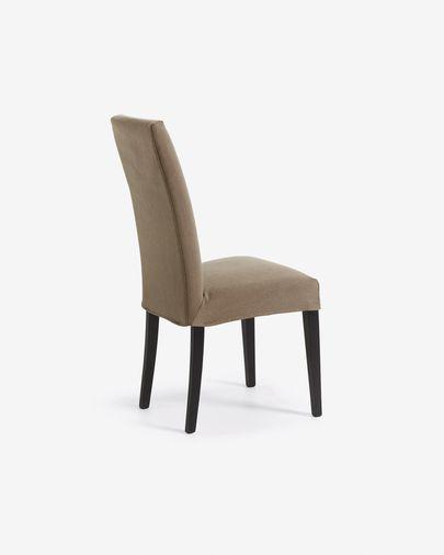 Cadeira Freda Bulova castanho e preto