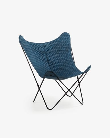 Blue Fly armchair