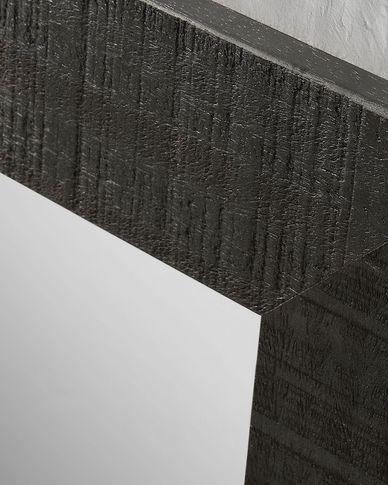 Seven spiegel 52 x 152 cm zwart