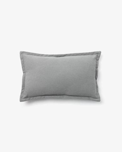 Fodera per cuscino Lisette 30 x 50 cm grigio