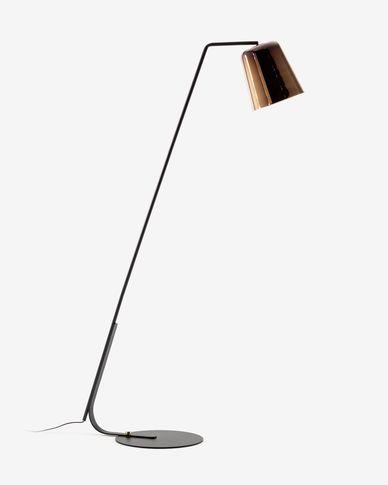 Lámpara de pie Anina de metal