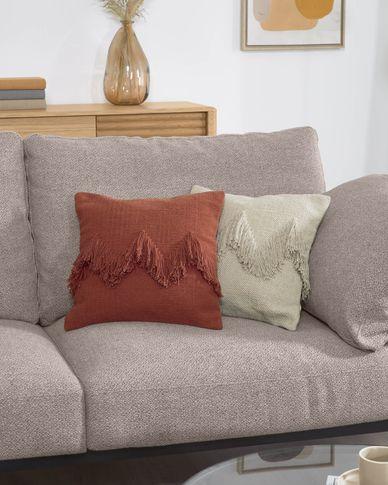 Poszewka na poduszkę Paulin  45 x 45 cm biała