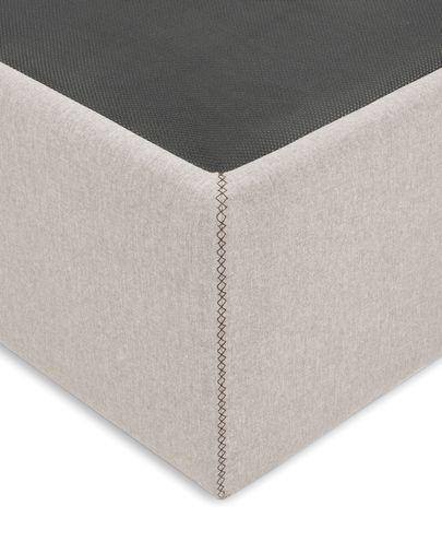 Storage bed base Matters 90 x 190 cm beige