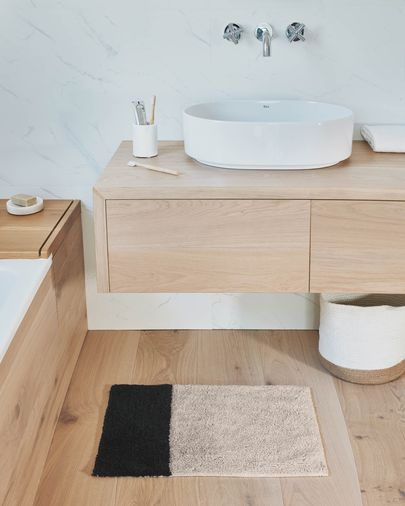 Tapis de bain Maica 40 x 60 cm rectangle
