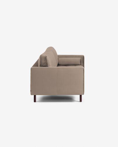 Debra 2-Sitzer Sofa taupe Samt 182 cm