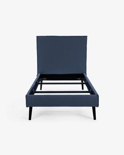 Blauw matrashoes Venla 90 x 190 cm