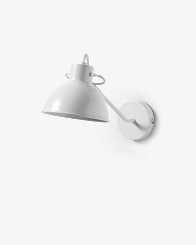 Aplique Offelis de acero con acabado blanco