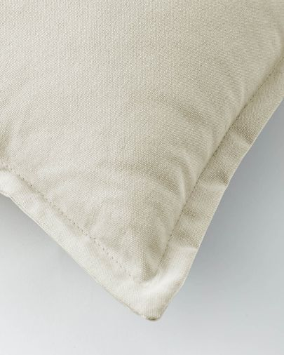 Funda coixí Lisette 45 x 45 cm blanc