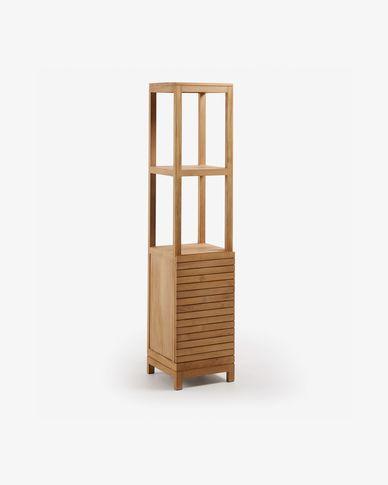 Armari de bany Kuveni de fusta massissa de teca 40 x 182 cm