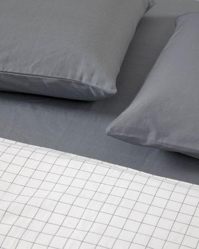 Set Lesly de bajera, funda nórdica y de almohada algodón orgánico GOTS 180 x 200 cm