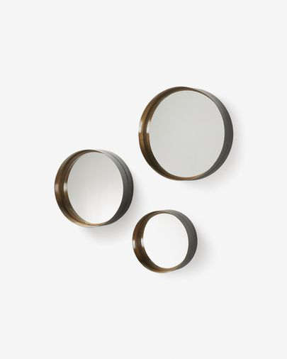 Wilton set of 3 mirrors  Ø 35 cm / Ø 30 cm / Ø 23 cm