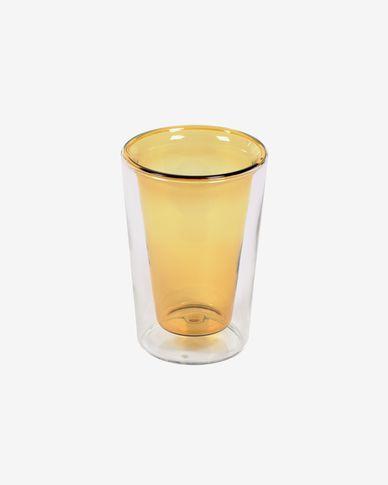 Transparant en geel glas Aryas
