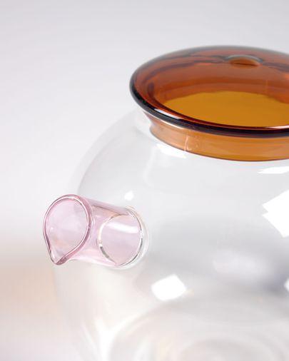 Kan Dusnela van transparant en blauw glas