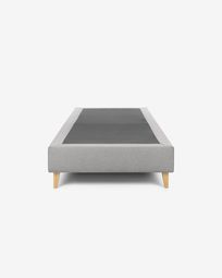 Base alta Nikos gris 90 x 190 cm