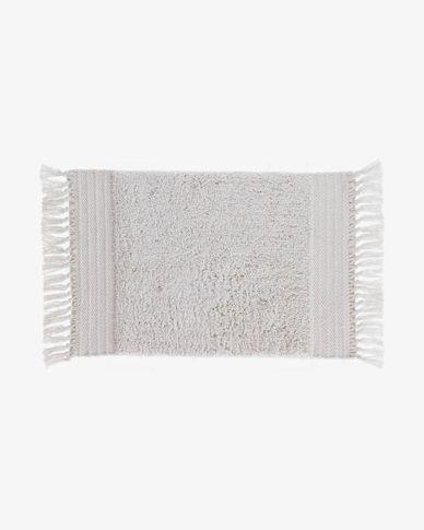 Tappetino da bagno Nilce 40 x 60 cm naturale