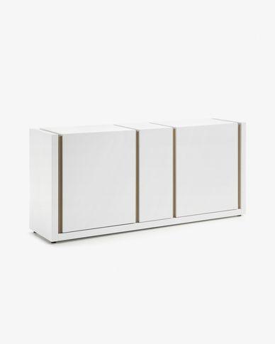 Aparador DE 174 x 79 cm blanc