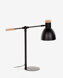 Lampe de table Tescarle noir