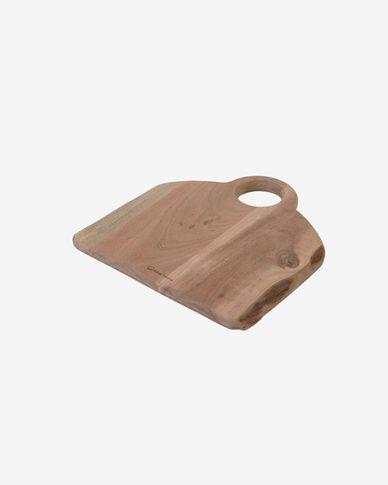 Deska do serwowania Syriana z litego drewna akacjowego kwadratowa