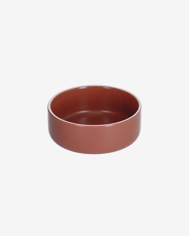 Bol pequeño Roperta de porcelana terracota