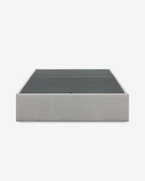 Storage bed base Matters 160 x 200 cm grey