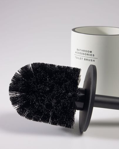 Lali white toilet brush