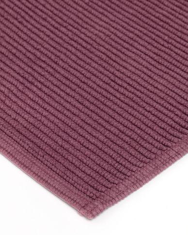 Miekki bath mat burgundy