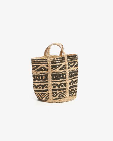 Sanborne basket black