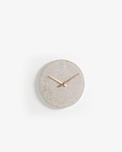Rellotge de paret Alexia Ø 27 cm beix