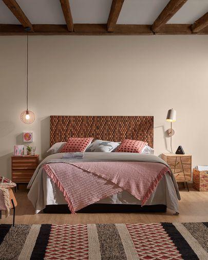 Lámpara de techo Arietta rosa