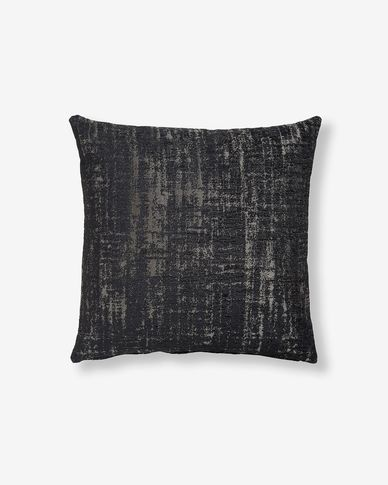 Fodera cuscino Nazca 45 x 45 cm nero