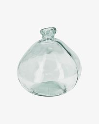 Brenna big clear vase