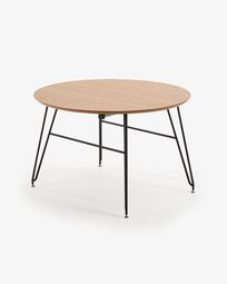 Novac ronde uitschuifbare tafel Novac Ø 120 (200) x 75 cm