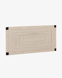 Cabecero Shami de madera maciza de acacia 164 x 80 cm