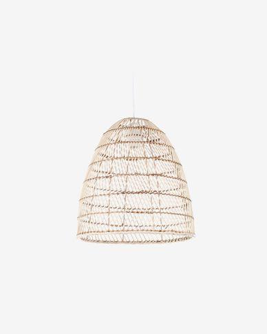 Lampenschirm für die Lampe Dunya 100% Rattan mit natürlichem Finish Ø 35 cm