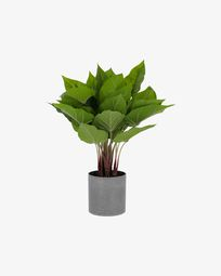 Pianta artificiale Anthurium da 50 cm