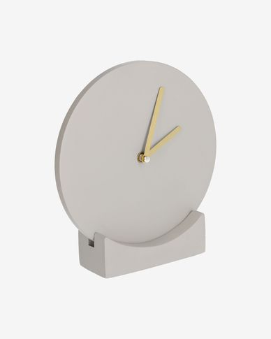 Rellotge Tahiel gris de Ø 19,9 cm